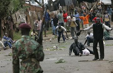 Kenya riots